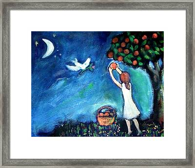 Oranges Song Framed Print