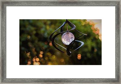 Framed Print featuring the photograph Orb by Tim Nichols