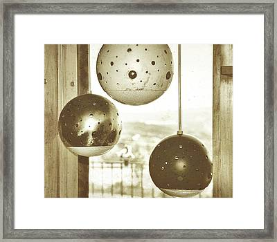Orb Trio Framed Print by JAMART Photography