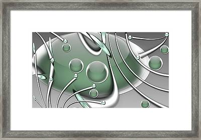 Orb Wars Framed Print