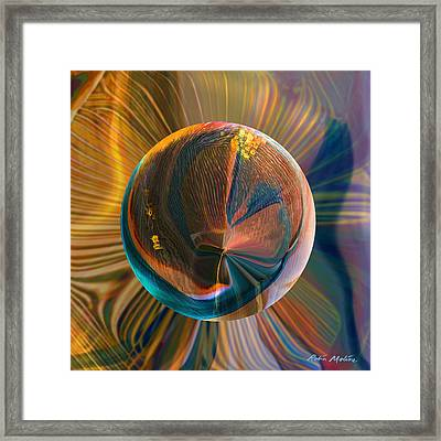 Orbing Good Vibrations Framed Print