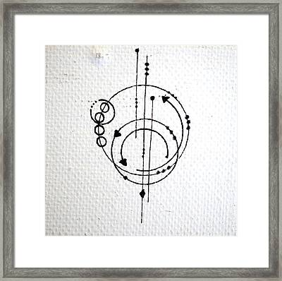 Orbit #001 Framed Print by Sinta Jimenez