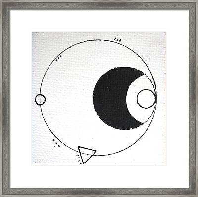 Orbit #002 Framed Print by Sinta Jimenez
