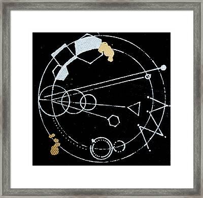 Orbit #003 Framed Print by Sinta Jimenez