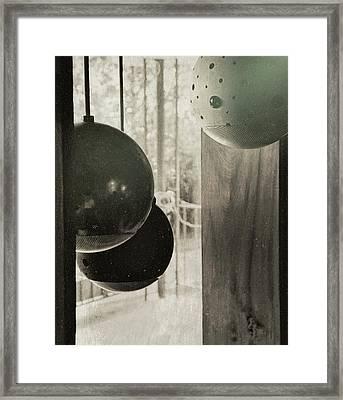 Orbiting Orbs Framed Print by JAMART Photography