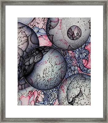 Orbs Continuum One Framed Print by Jack Dillhunt