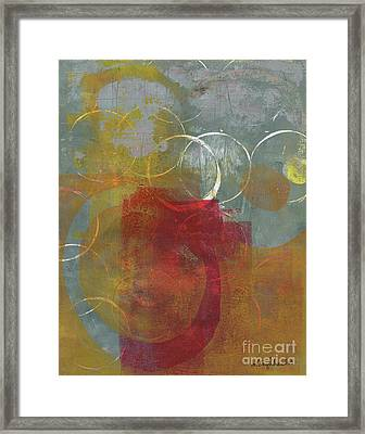 Orbs Framed Print