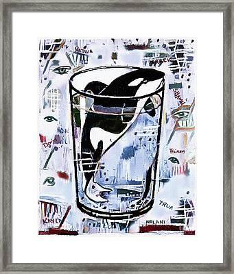 Orca #1 Framed Print