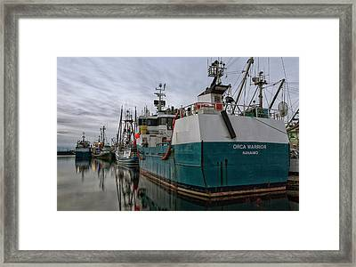 Framed Print featuring the photograph Orca Warrior by Randy Hall
