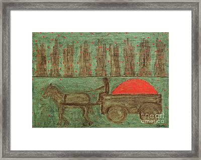 Orchard Framed Print by Patrick J Murphy