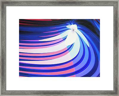 Orchid In A Stream Framed Print