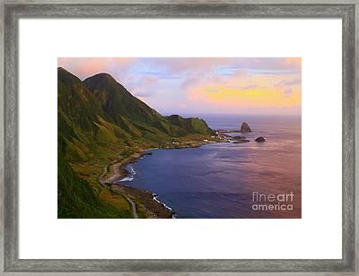 Orchid Island Framed Print