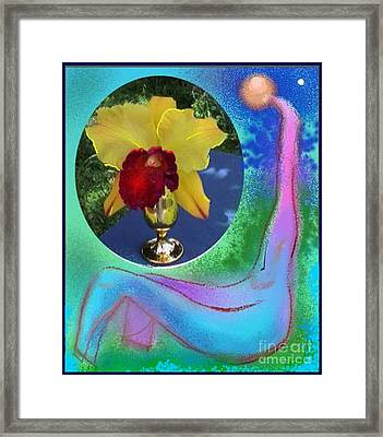 Orchid Keeper Framed Print by The Art of Alice Terrill