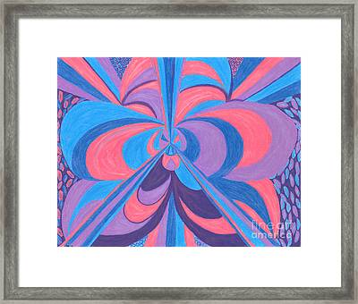 Framed Print featuring the drawing Orchid by Kim Sy Ok