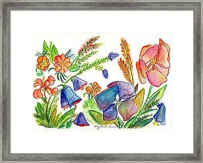 Orchid No. 13 Framed Print by Julie Richman