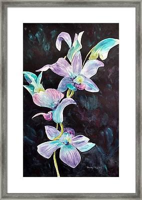 Orchids Alive Framed Print