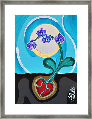 Orchids For My Love Framed Print