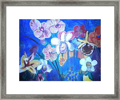 Orchids In My Dream Framed Print