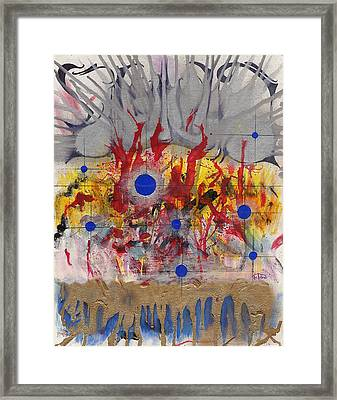 Order In Chaos Framed Print by Nathaniel Hoffman