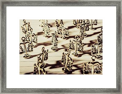 Order Of Law And Justice Framed Print by Jorgo Photography - Wall Art Gallery