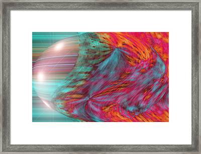 Order Of The Universe Framed Print by Linda Sannuti