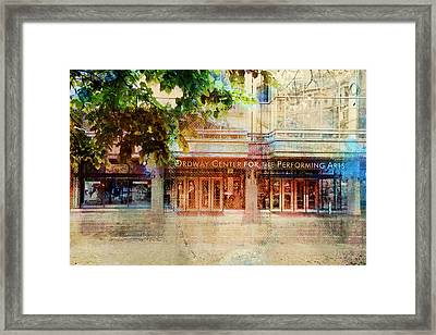 Framed Print featuring the photograph Ordway Center by Susan Stone