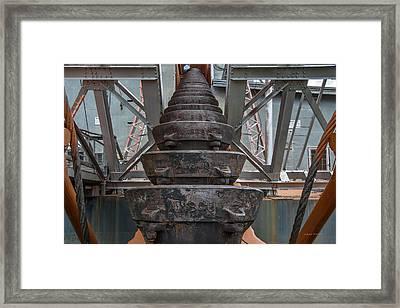 Ore Buckets 2 Framed Print by Leland D Howard