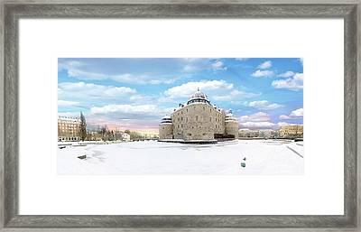 Orebro Castle Framed Print by Marius Sipa