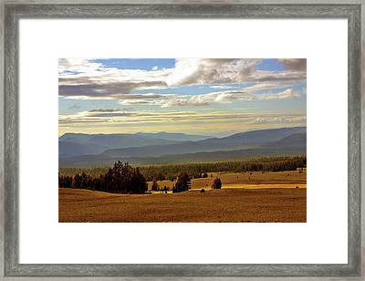 Oregon - Land Of The Setting Sun Framed Print by Christine Till