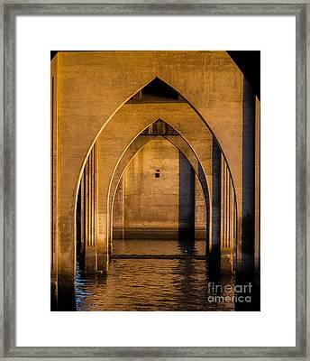 Oregon Bridge 1 Framed Print