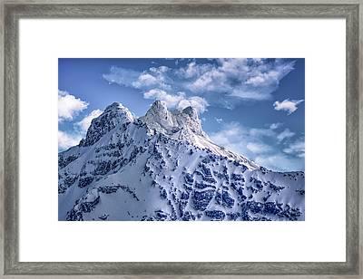 Oregon Casades Framed Print