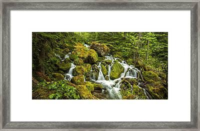 Oregon Cascades Framed Print by Andrew Soundarajan