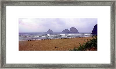 Oregon Coast 1 Framed Print by Marty Koch