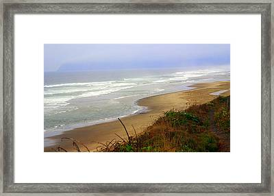 Oregon Coast 3 Framed Print by Marty Koch