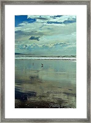 Oregon Coast 6 Framed Print