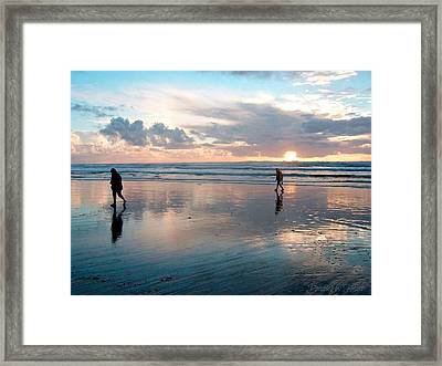 Oregon Coast 7 Framed Print
