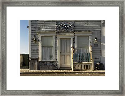Oregon Coast - River House  Framed Print