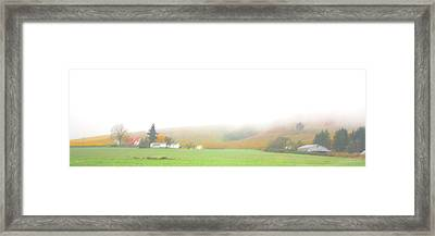 Oregon Countryside Framed Print by Judith Schmidt