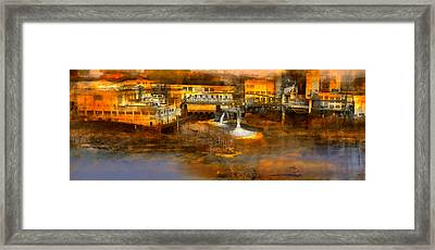 Oregon Electric And Mill Framed Print