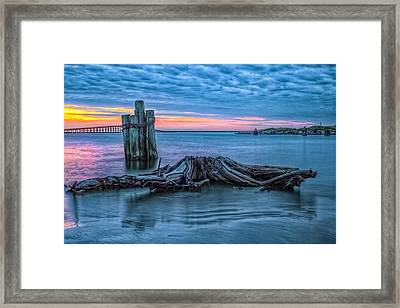 Oregon Inlet II Framed Print