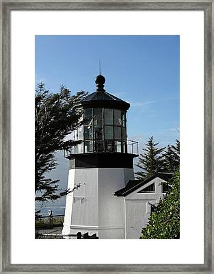 Oregon Lighthouses - Cape Meares Lighthouse Framed Print by Christine Till
