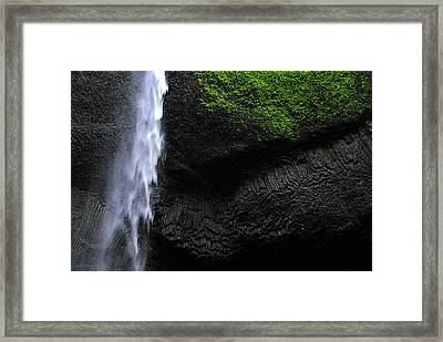 Oregon Waterfall Framed Print by Craig Perry-Ollila