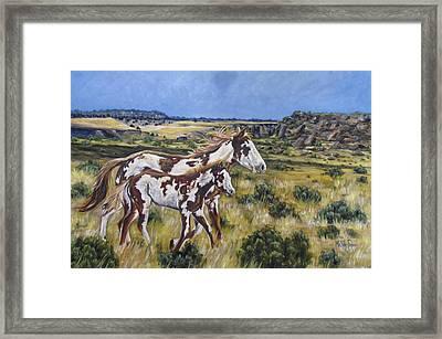 Oregon Wildies Framed Print