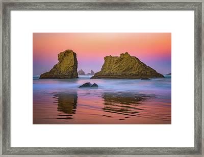 Oregon's New Day Framed Print by Darren White