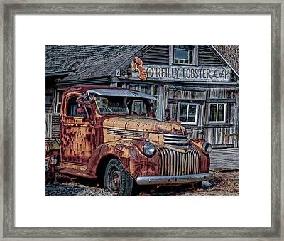 O'reilly Lobster Pound Framed Print
