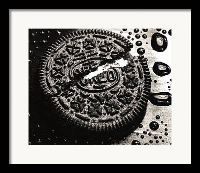 Oreo Framed Prints