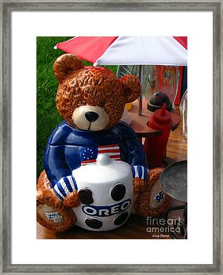 Oreo Framed Print by Greg Patzer