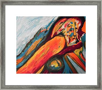Orestiad Framed Print by Esther Newman-Cohen