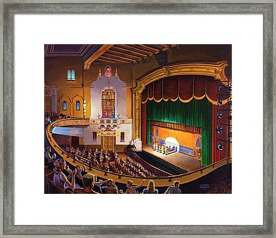 Organ Club - Jefferson Framed Print