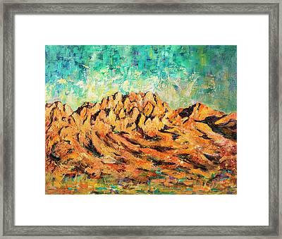 Organ Mountains IIi Framed Print